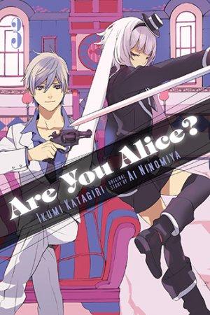 couverture, jaquette Are You Alice? 3 Américaine (Yen Press)