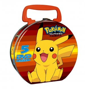 Pokemon - Saison 08 : Advanced Battle édition Valise métal 5 DVD