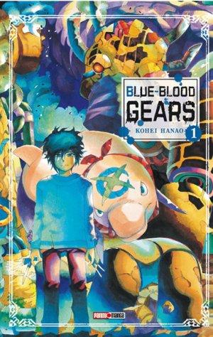 couverture, jaquette Blue-Blood Gears 1  (Panini manga)