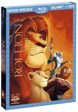 Le roi lion édition Combo Blu-ray + DVD
