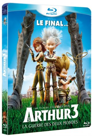 Arthur 3 La Guerre des Deux Mondes édition Simple
