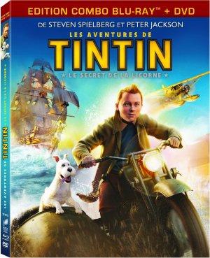 Les Aventures de Tintin : Le Secret de la Licorne édition COMBO BLU-RAY + DVD