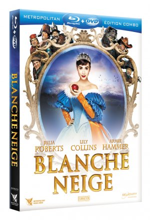 Blanche Neige édition COMBO BLU-RAY + DVD