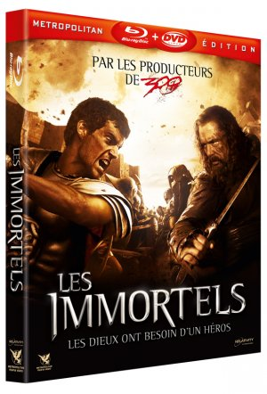 Les Immortels édition  COMBO BLU-RAY BLU-RAY 2D + DVD