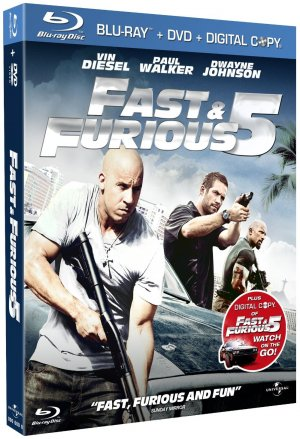 Fast and Furious 5 édition Combo Blu-ray + DVD + Copie digitale