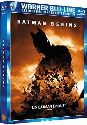 Batman Begins édition Warner Blu-Line