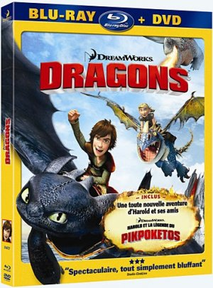 Dragons édition Combo Blu-ray + DVD
