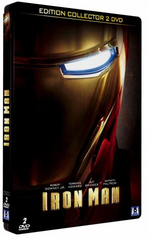 Iron Man édition Collector boitier métallique