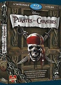 Pirates des Caraïbes - L'intégrale 4 films