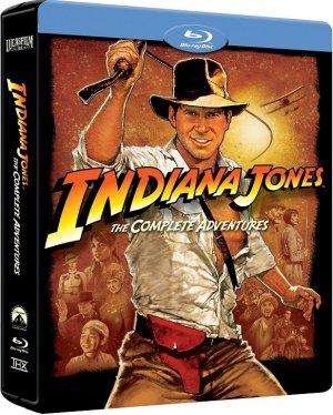 Indiana Jones : l'intégrale édition Intégrale blu-ray boitier métal