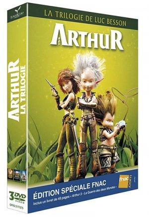 Arthur : la trilogie de Luc Besson édition Spéciale FNAC