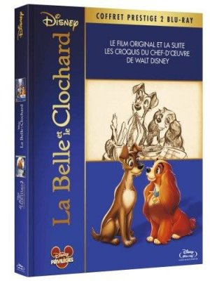 La belle et le clochard - Coffret prestige 2 films