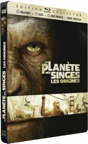 La Planète des singes : les origines édition Edition Collector - boitier métal