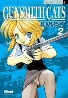 couverture, jaquette Gunsmith Cats Burst 2  (Glénat Manga)