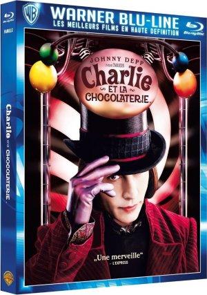 Charlie et la Chocolaterie édition Warner Blu-Line