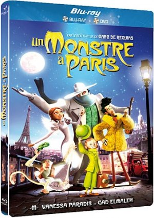 Un Monstre à Paris édition Combo