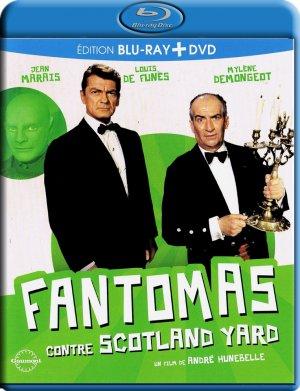 Fantômas contre Scotland Yard édition Combo