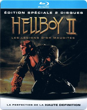 Hellboy II les légions d'or maudites édition Edition FNAC Steelbook