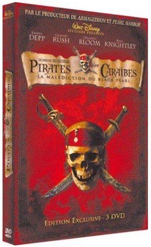 Pirates des Caraïbes : la Malédiction du Black Pearl édition Edition exclusive - 3DVD