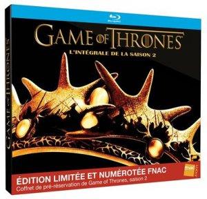 Game of Thrones édition Limitée et Numerotée FNAC