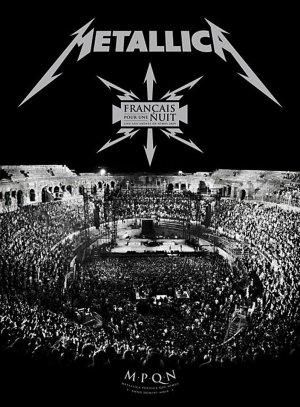 Metallica français pour une nuit édition Simple
