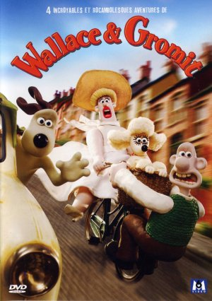 Wallace & gromit - 4 épisodes édition Simple