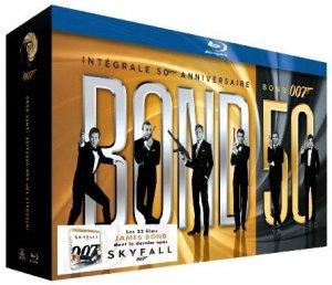 James Bond - Intégrale 50ème anniversaire