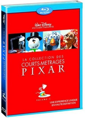 La collection des courts-métrages Pixar