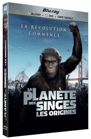 La Planète des singes : les origines édition Combo