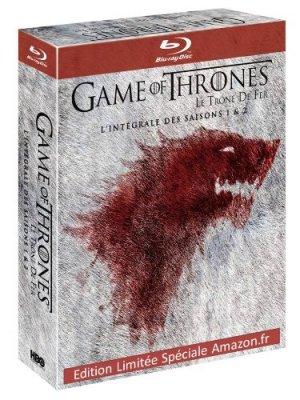 Le Trône de fer édition Saisons 1 & 2 Edition Spéciale Amazon