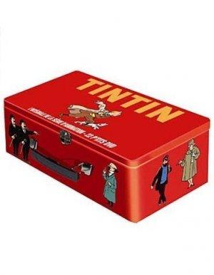 Integrale des aventures de tintin édition Mallette P'tit DVD