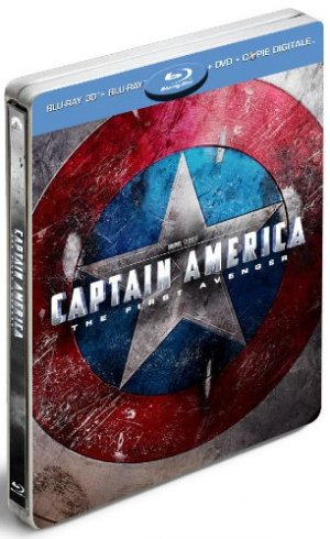 Captain America : First Avenger édition Steelbook