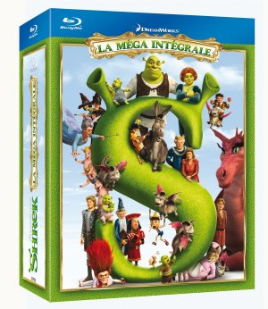 Shrek - Intégrale 4 films édition Simple