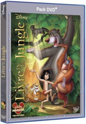 Le Livre de la jungle édition Pack DVD+