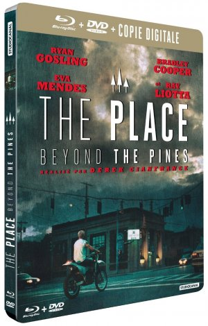 The Place Beyond the Pines édition Combo boîtier SteelBoo