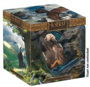 Le Hobbit : un voyage inattendu édition Blu-ray 3D - Version longue + Statue