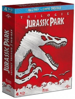 Jurassic Park - Trilogie édition Combo