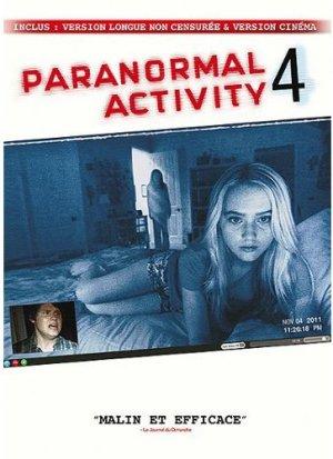 Paranormal Activity 4 édition Version Longue Non Censurée