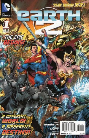 Earth Two # 1 Issues V1 (2012 - 2015)