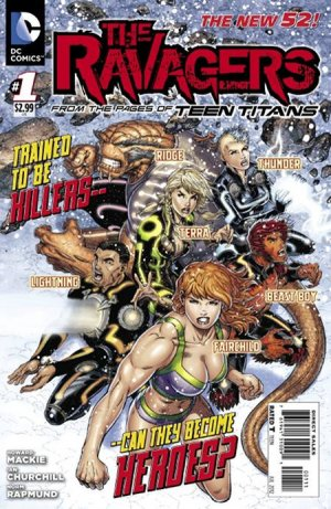 The Ravagers édition Issues V1 (2011 - 2013) - Reboot 2011