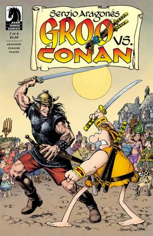 Groo vs Conan édition Issues (2014)