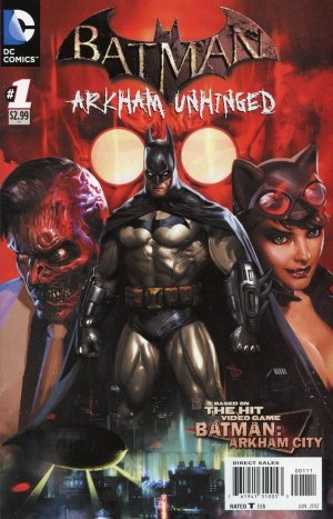 Batman - Arkham Unhinged édition Issues (2012 - 2013)
