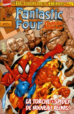 Captain America # 9 Kiosque (1999 - 2000)