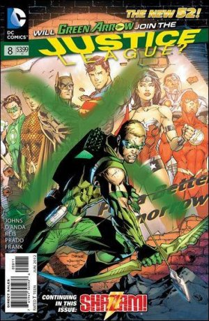 Justice League # 8 Issues V2 - New 52 (2011 - 2016)