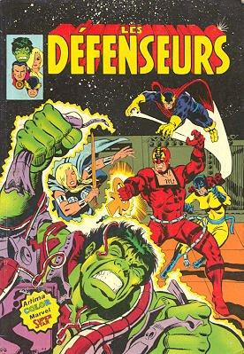 Les Défenseurs édition Kiosque (1981 - 1984)