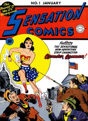 Sensation (Mystery) Comics édition Issues (1942 à 1953)