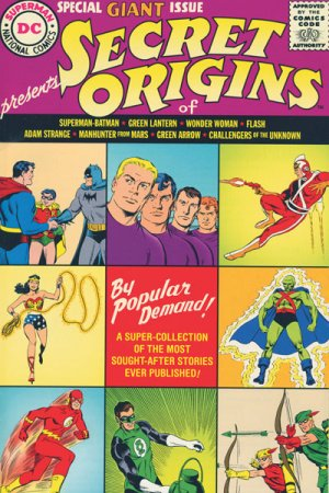 DC Universe - Secret Origins # 1 TPB hardcover (cartonnée)