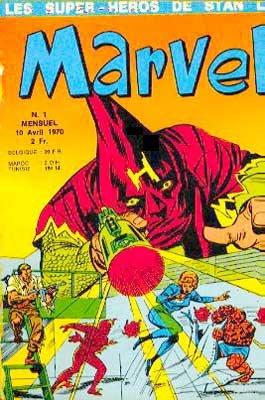 Marvel édition Kiosque (1970 - 1971)