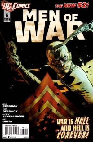 Men of War # 5 Issues V2 (2011 - 2012) - Reboot 2011