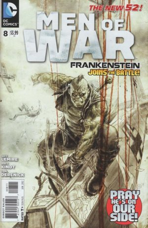 Men of War # 8 Issues V2 (2011 - 2012) - Reboot 2011